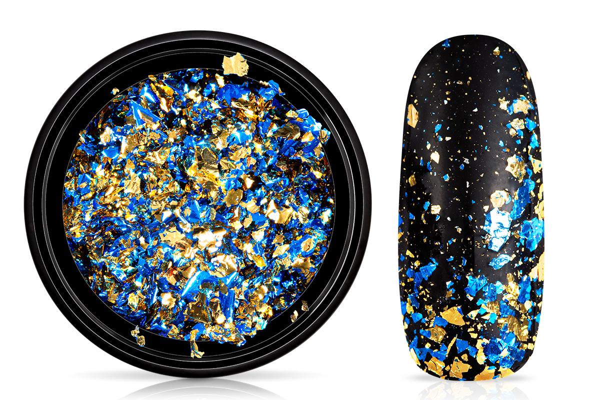 Jolifin Soft-Foil Flakes - blue-champagne