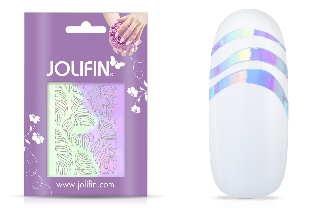 Jolifin Aurora Sticker - Waves clear diamond