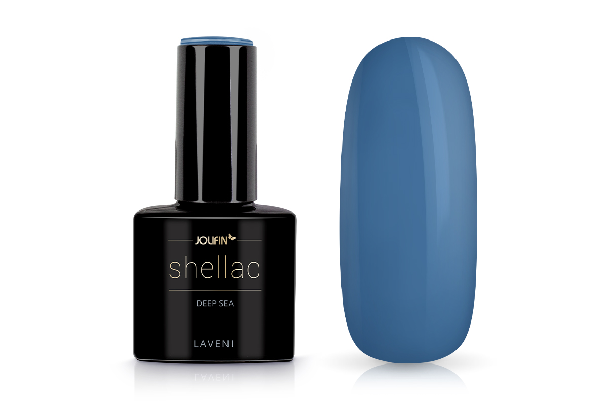 Jolifin LAVENI Shellac - deep sea 12ml