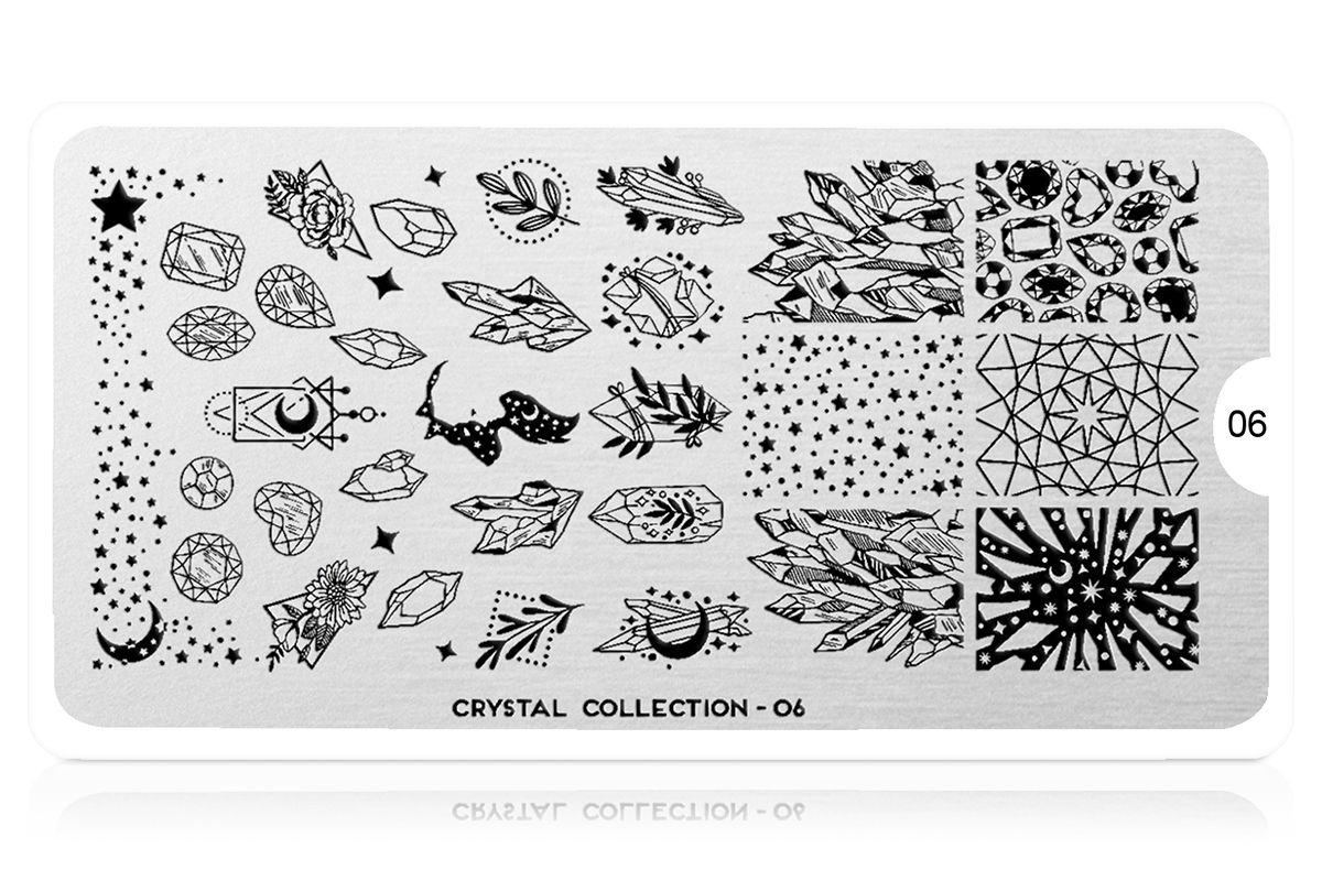 MoYou-London Schablone Crystal Collection 06