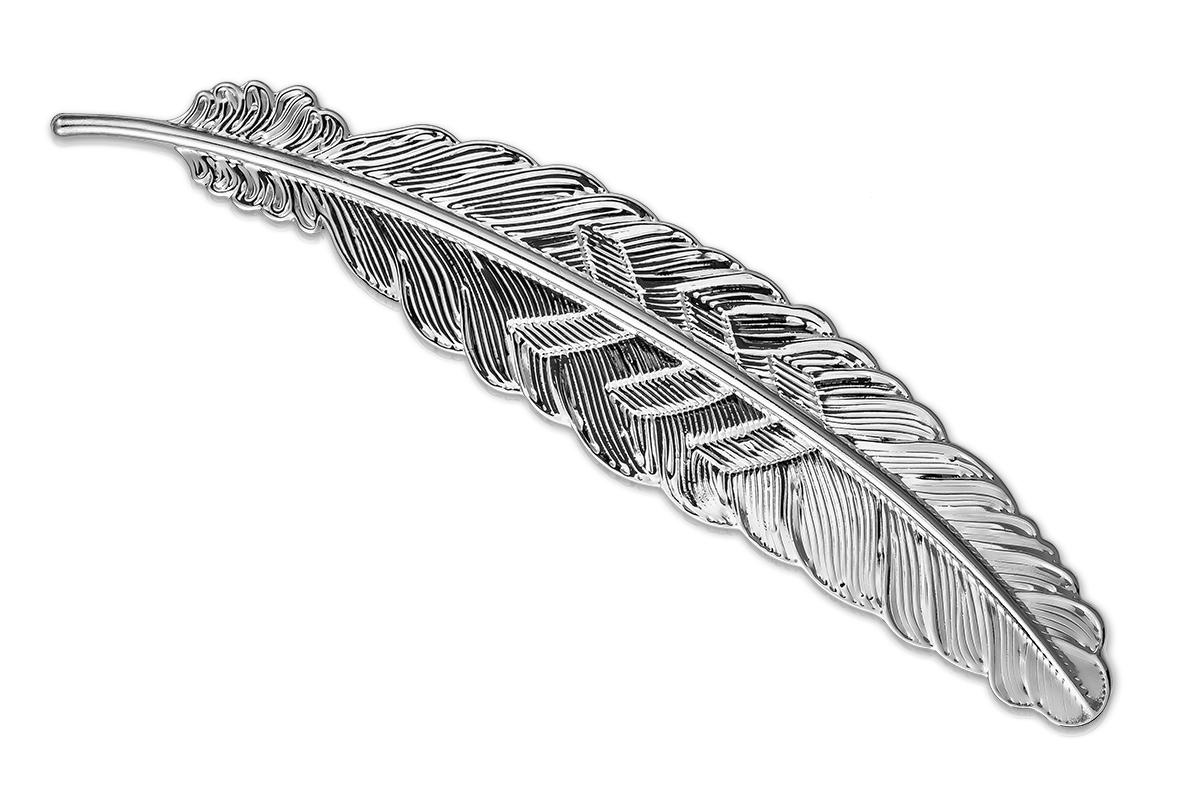 Jolifin Präsentationsdisplay - Feder antik silber