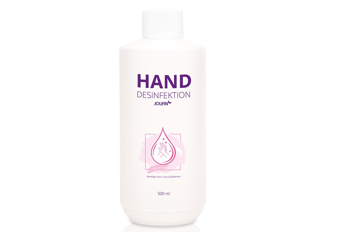 Jolifin Handdesinfektion 500ml