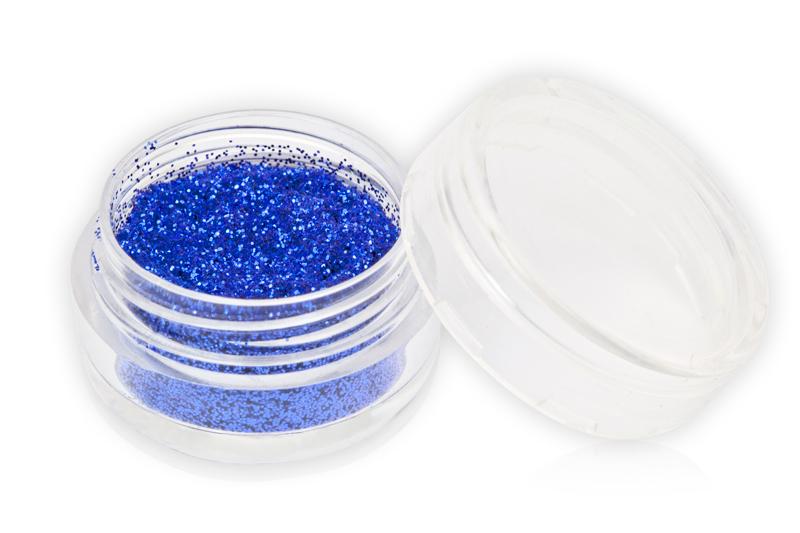 Jolifin Glitterpuder blau