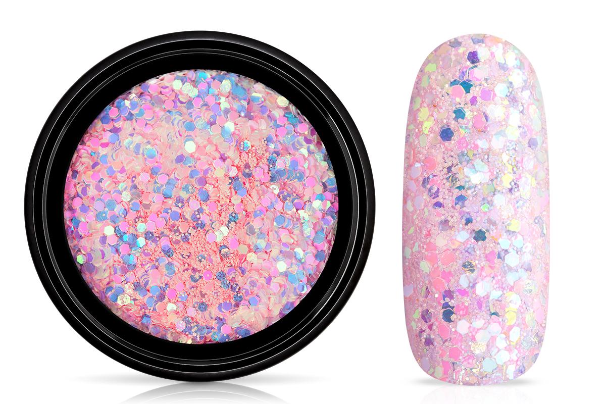 Jolifin LAVENI Mermaid Pastell Glitter - rosy