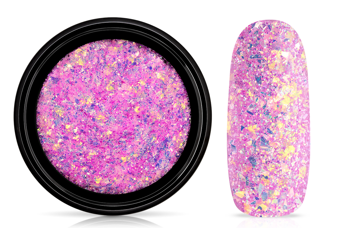 Jolifin LAVENI Mermaid Flakes Glitter - purple