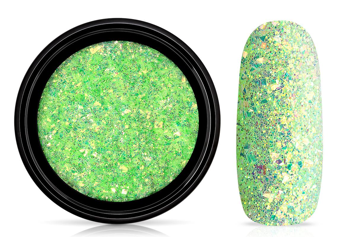 Jolifin LAVENI Mermaid Flakes Glitter - green