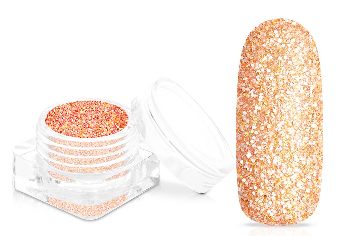 Jolifin Matt-Effekt Glitter - peach