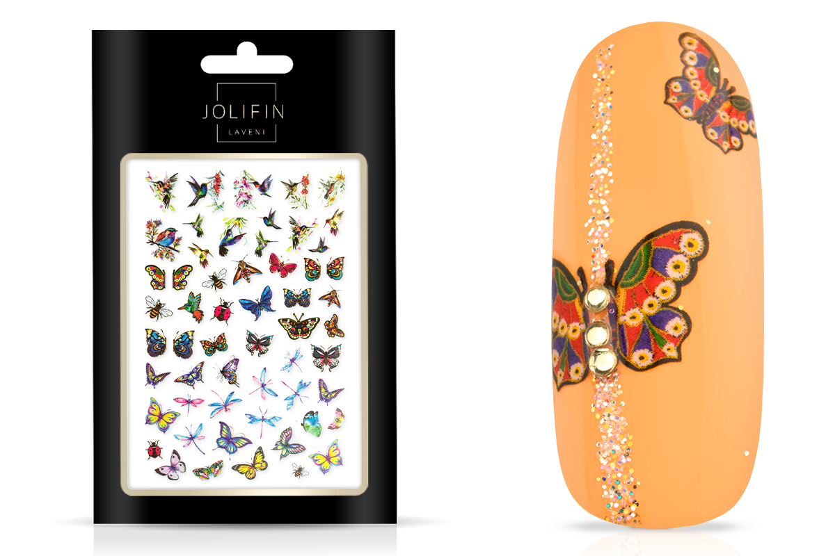 Jolifin LAVENI XL Sticker - Butterfly 1