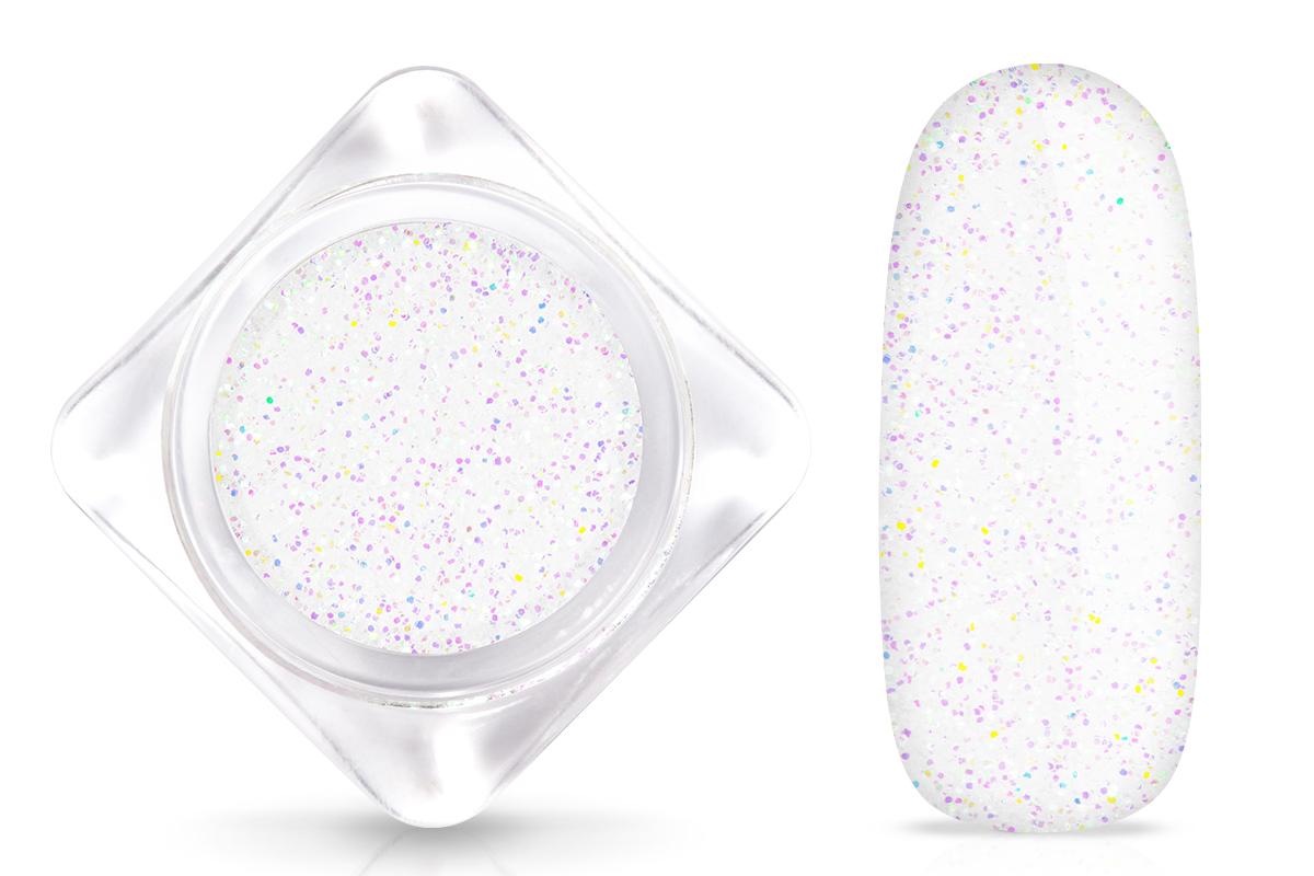 Jolifin Glitterpuder weiß
