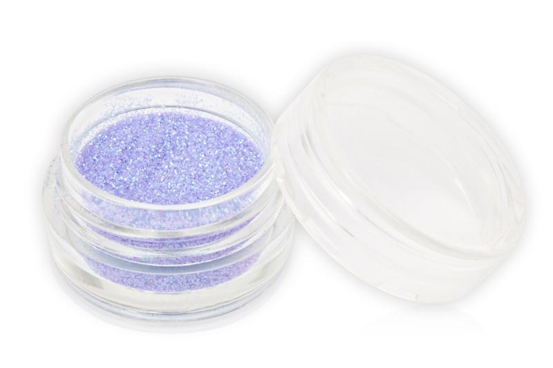 Jolifin Glitterpuder grau-lila