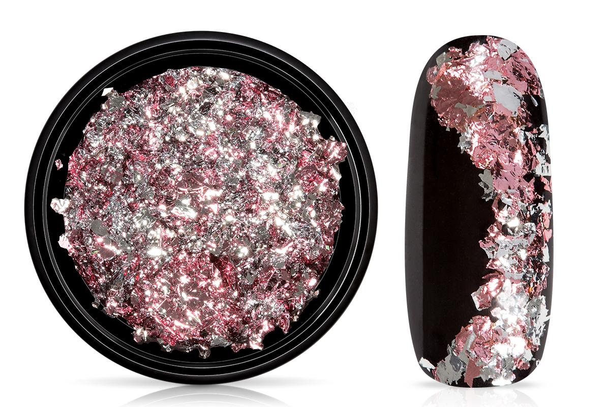 Jolifin Soft-Foil Flakes - rose-silver