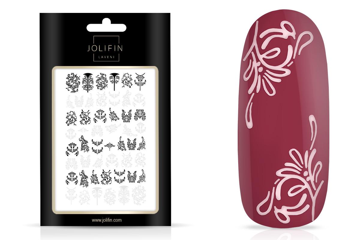 Jolifin LAVENI XL Sticker - black & white Nr. 4