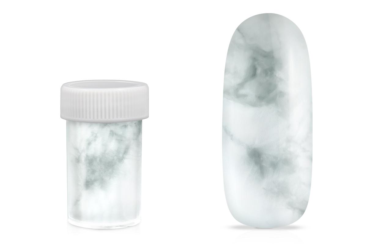 Jolifin Transfer Nagelfolie XL - Marmor weiß