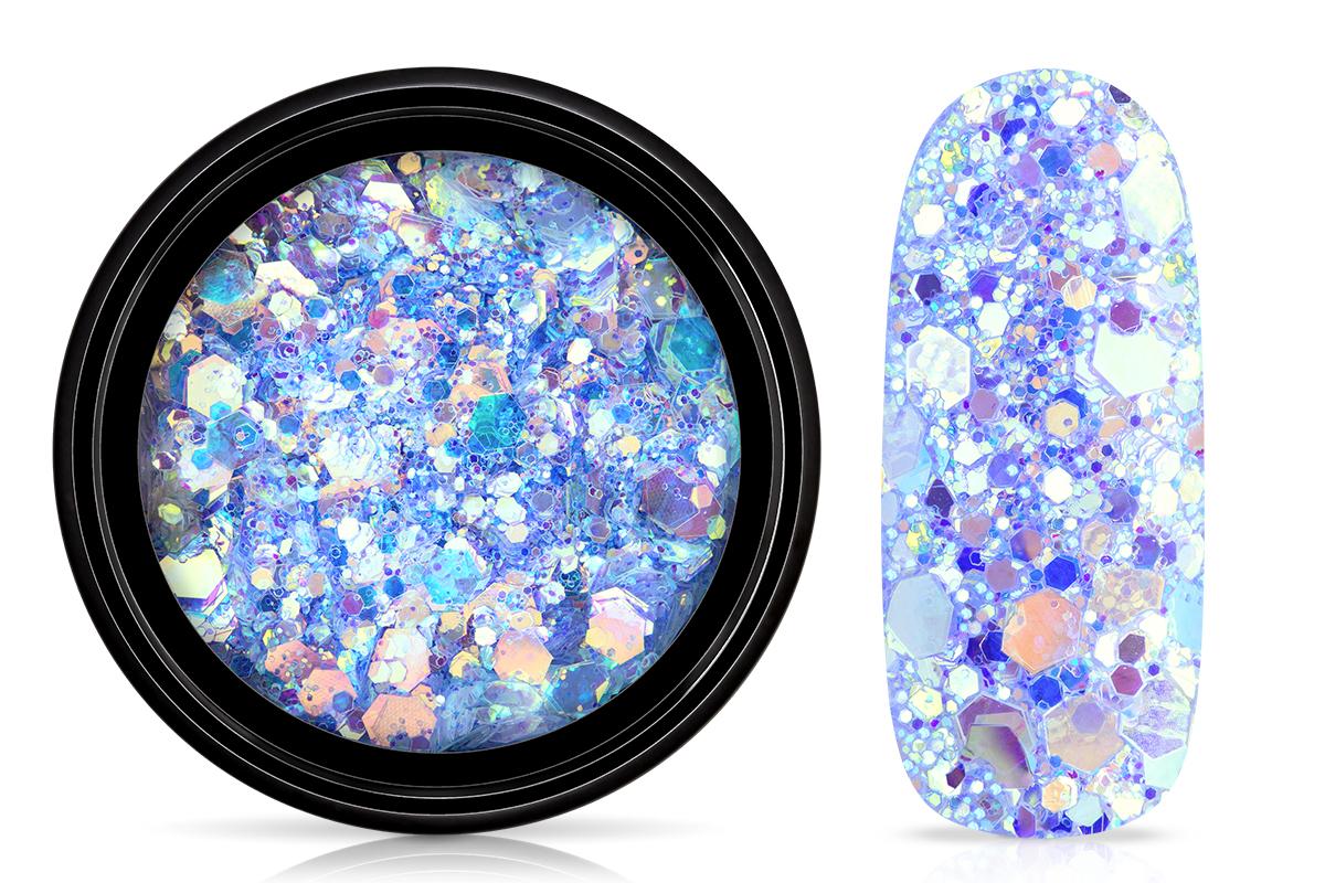 Jolifin LAVENI Mermaid Glitter - pool blue