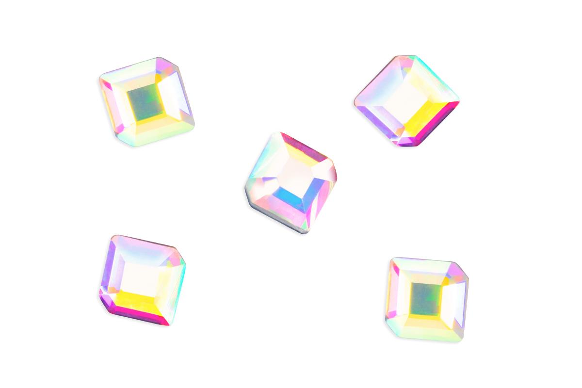 Jolifin LAVENI Strass-Diamond - fancy square irisierend