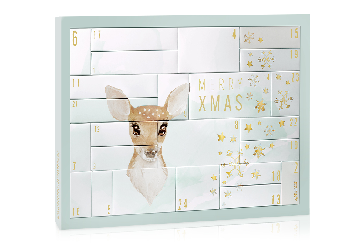 Jolifin Adventskalender 2020 - Nailart