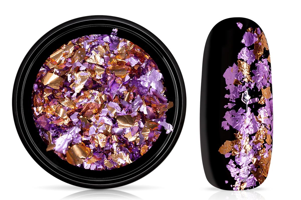 Jolifin Soft Foil Flakes - lavender-copper
