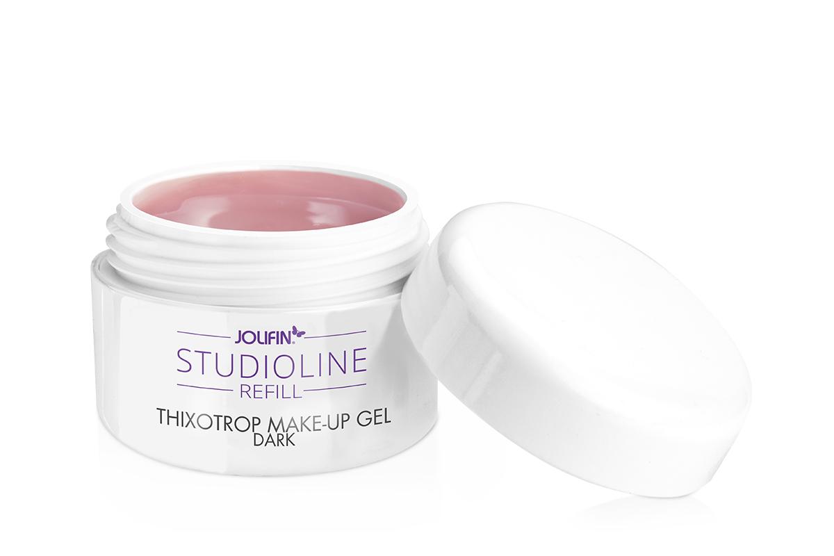 Jolifin Studioline Refill - Thixotrop Make-Up Gel dark 15ml