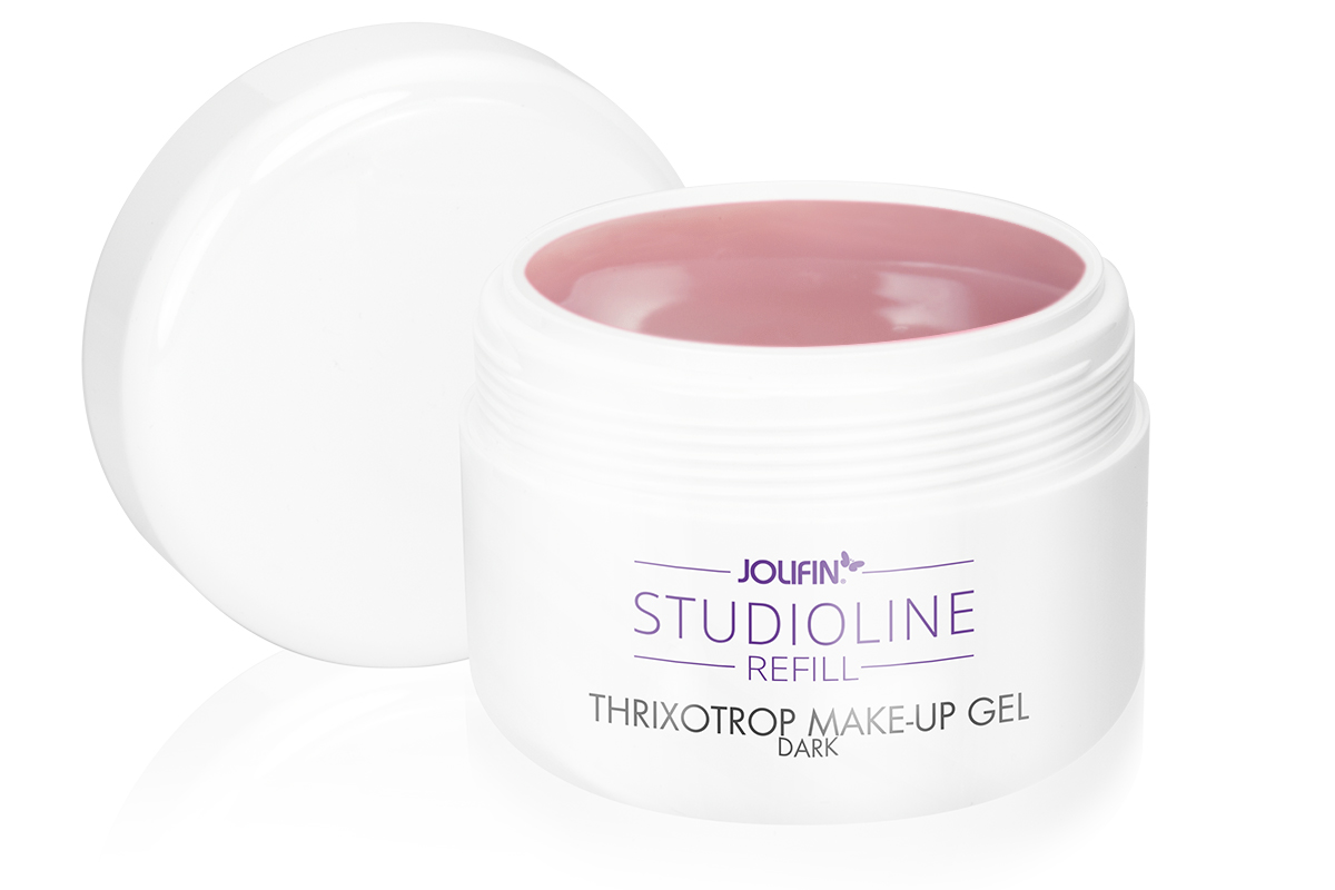 Jolifin Studioline Refill - Thixotrop Make-Up Gel dark 250ml