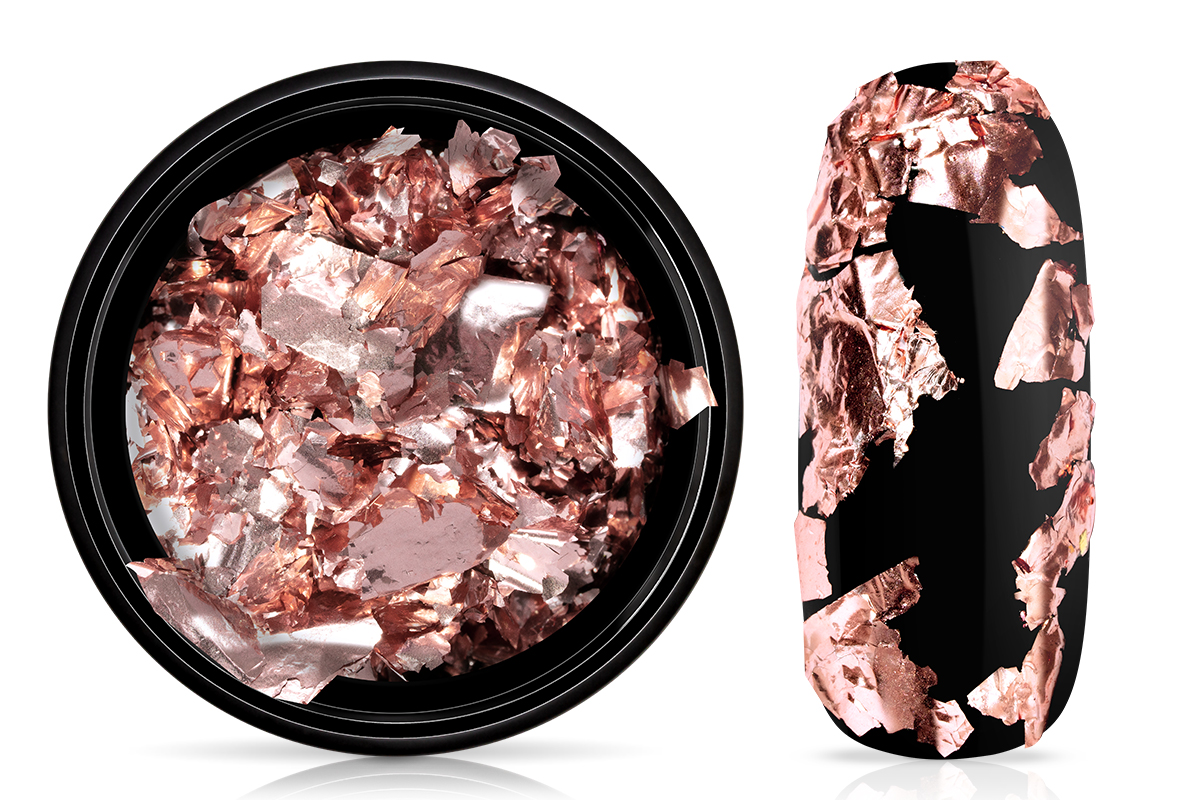 Jolifin Soft Foil Flakes - rosy elegance