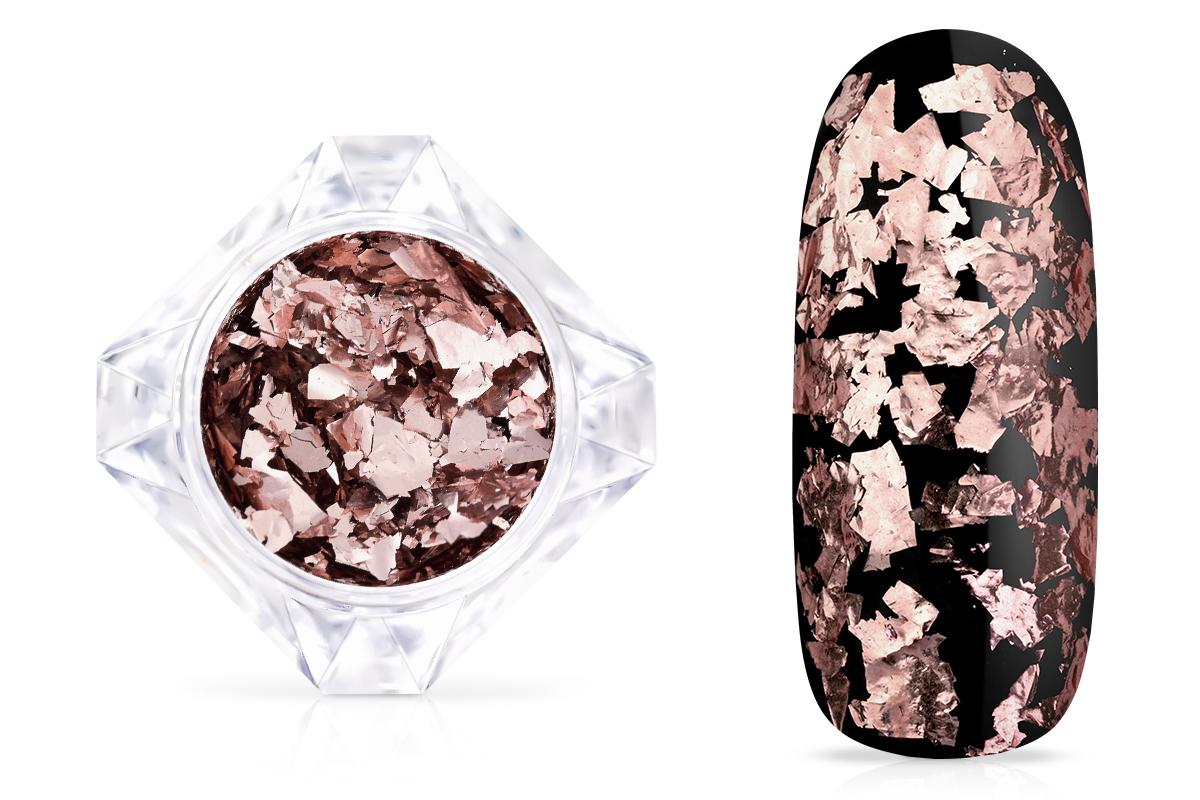 Jolifin LAVENI Mirror-Flakes - rosé-gold