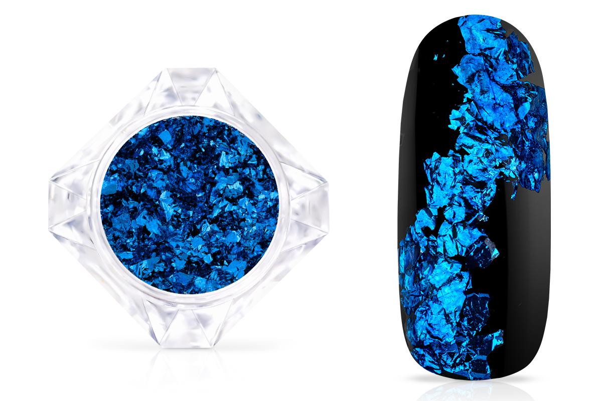 Jolifin LAVENI Mirror-Flakes - royal blue