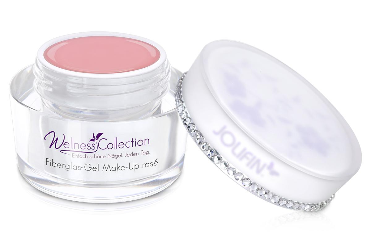 Jolifin Wellness Collection - Fiberglas-Gel make-up rosé 30ml