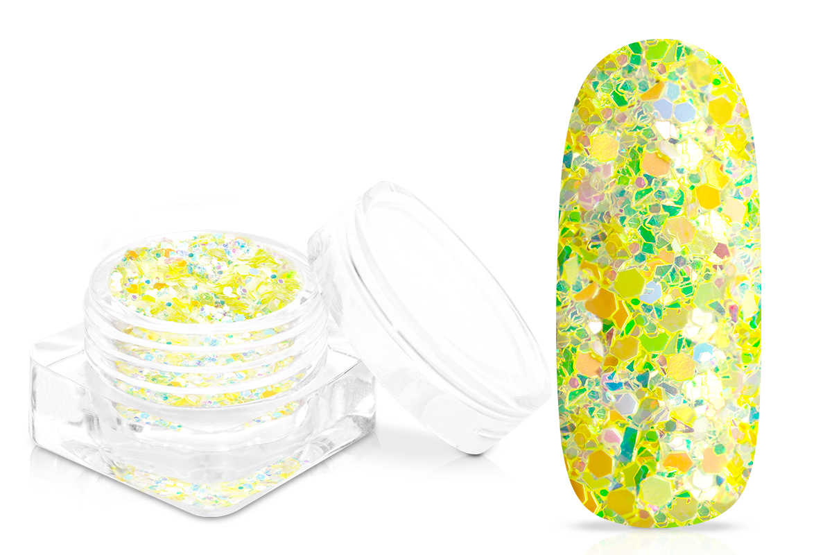 Jolifin Candy Glitter - sour lemon