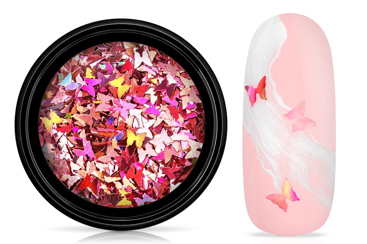 Jolifin Einleger - Butterfly rosy hologramm