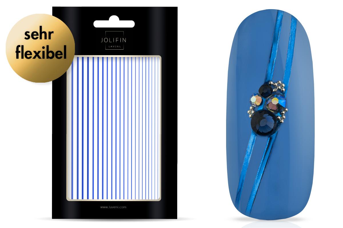 Jolifin LAVENI XL Sticker - Stripes blue