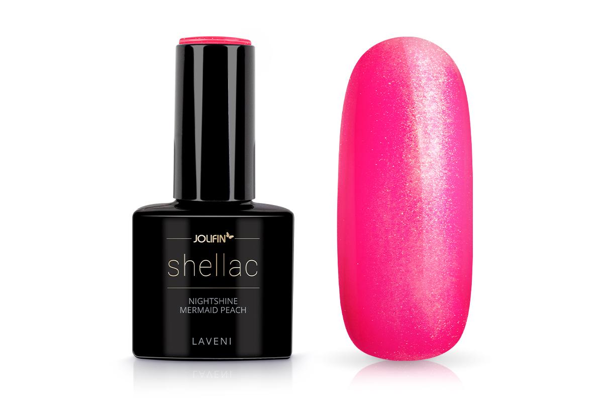 Jolifin LAVENI Shellac - nightshine mermaid peach 12ml
