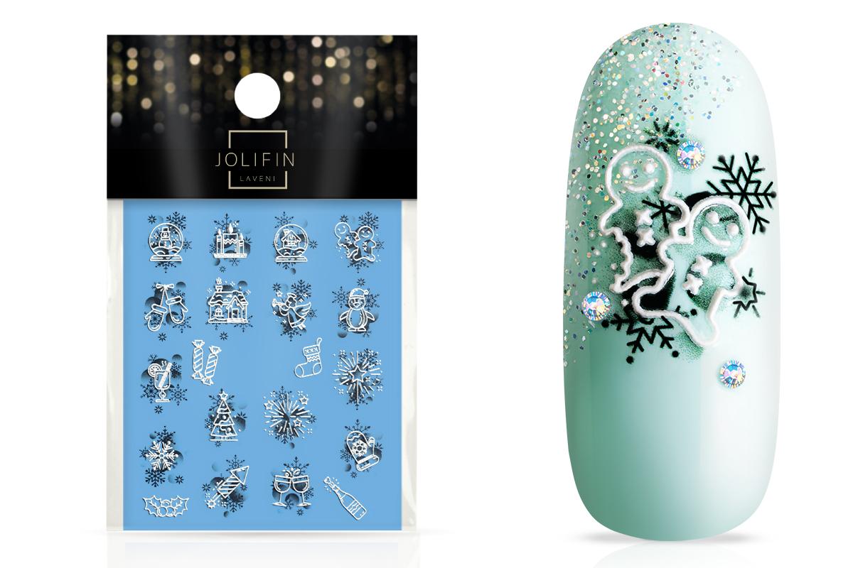Jolifin LAVENI 3D Tattoo - Christmas Nr. 5