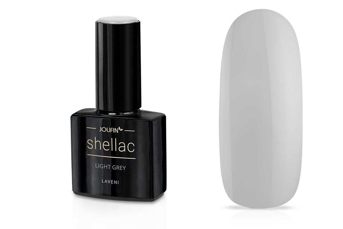 Jolifin LAVENI Shellac - light grey 12ml