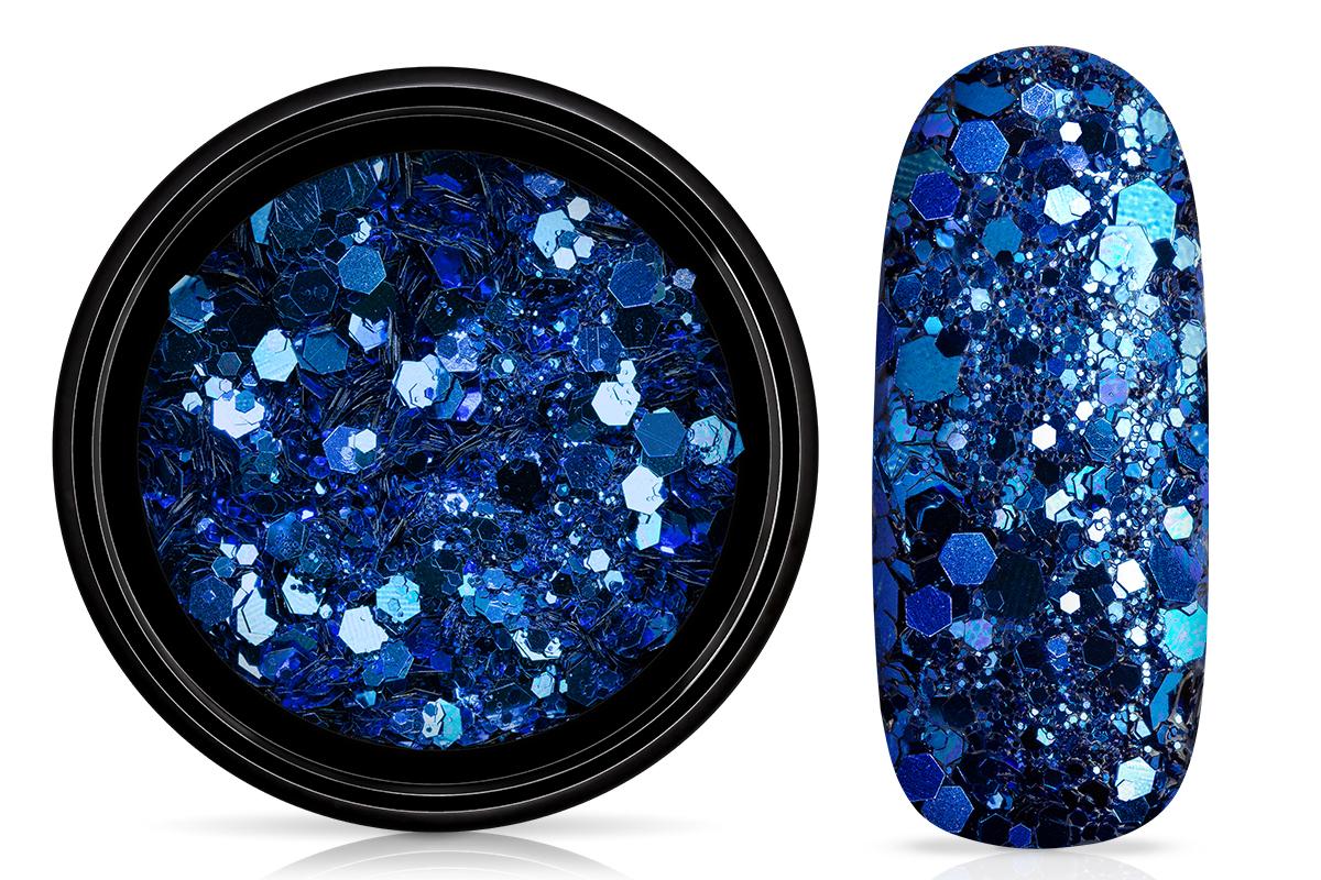 Jolifin LAVENI Luxury Glitter - elegance blue
