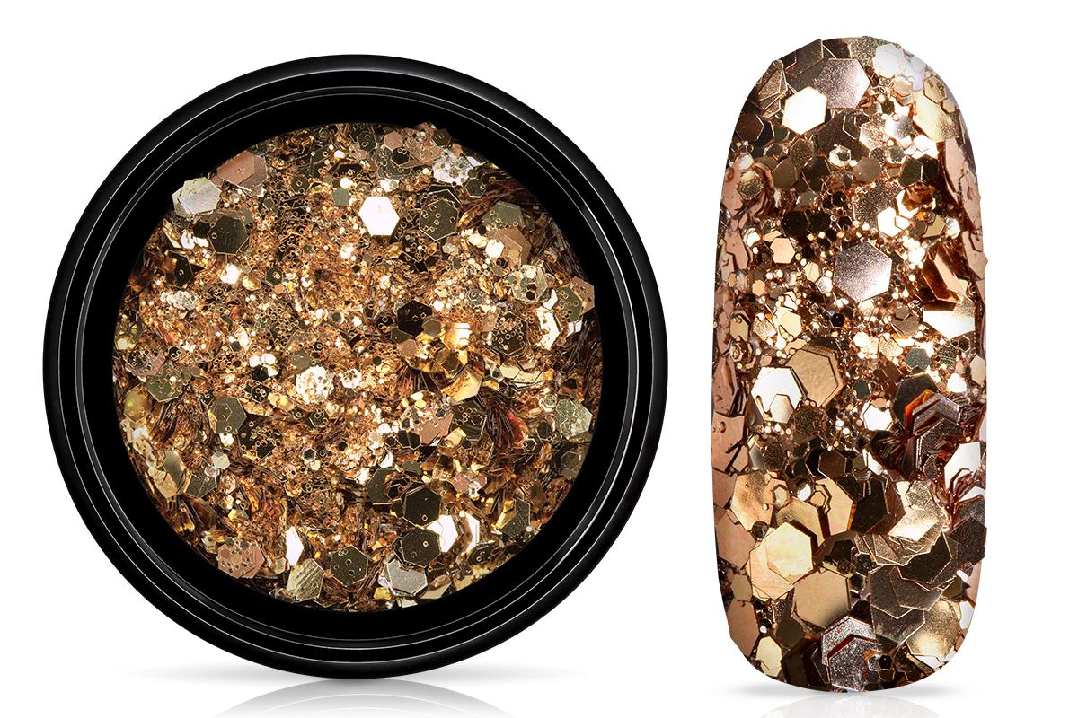 Jolifin LAVENI Sparkle Glitter - elegance champagne