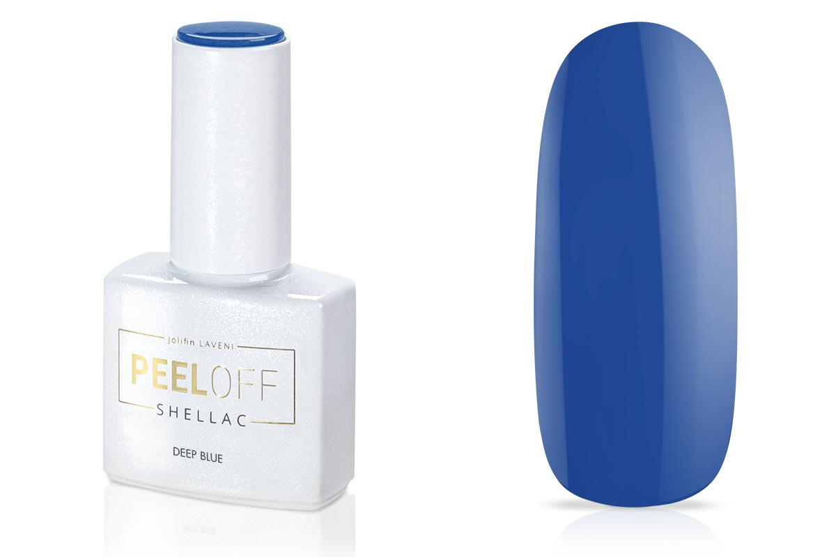 Jolifin LAVENI Shellac PeelOff - deep blue 12ml