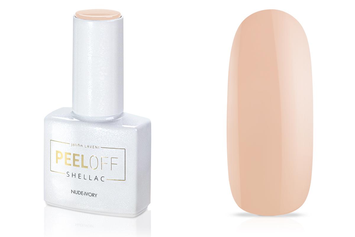 Jolifin LAVENI Shellac PeelOff - nude-ivory 12ml