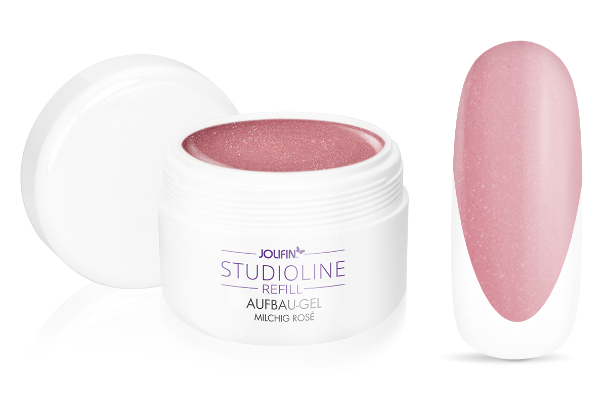 Jolifin Studioline Refill - Aufbau-Gel make-up shine 250ml