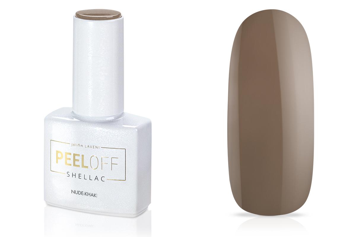 Jolifin LAVENI Shellac PeelOff - nude-khaki 12ml