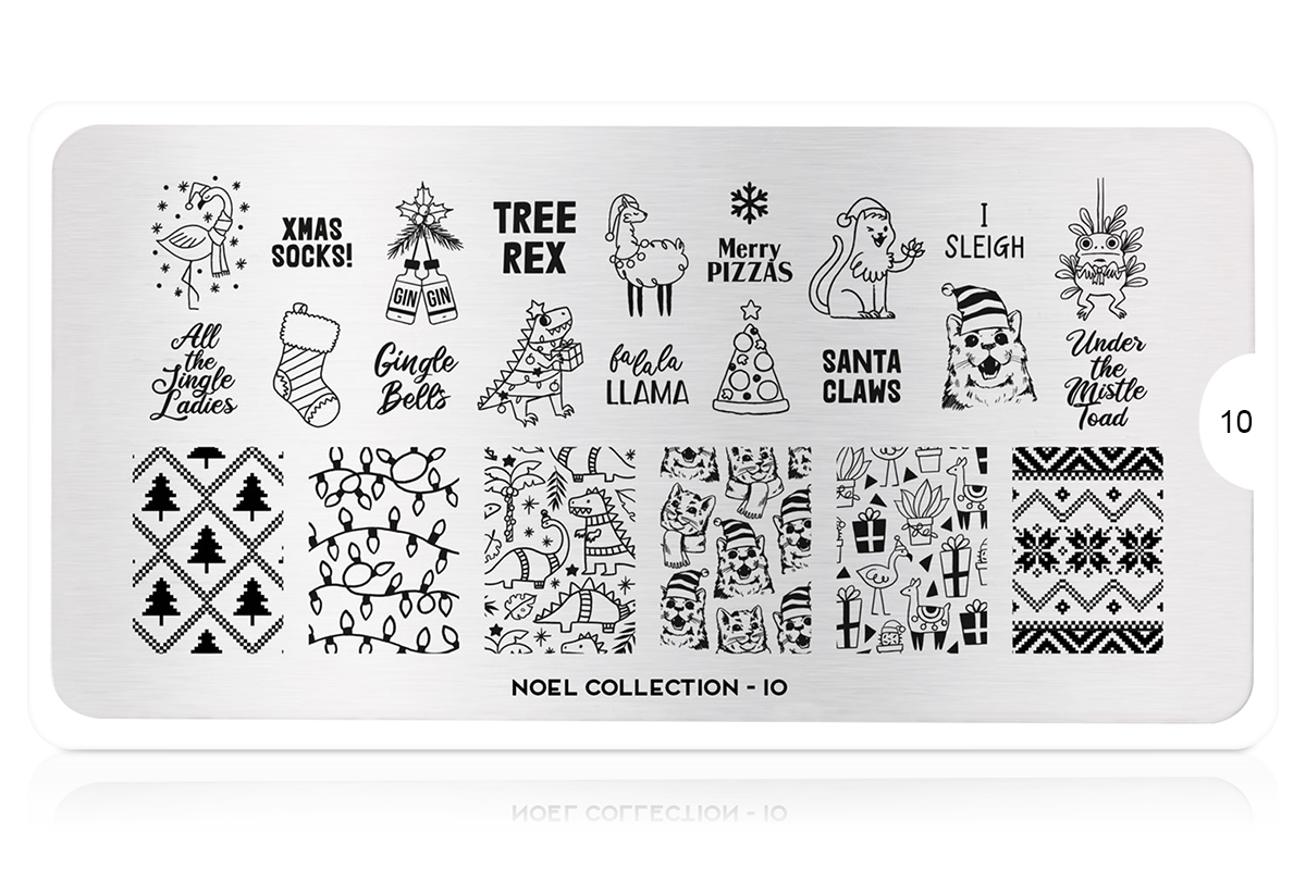 MoYou-London Schablone Noel Collection 10