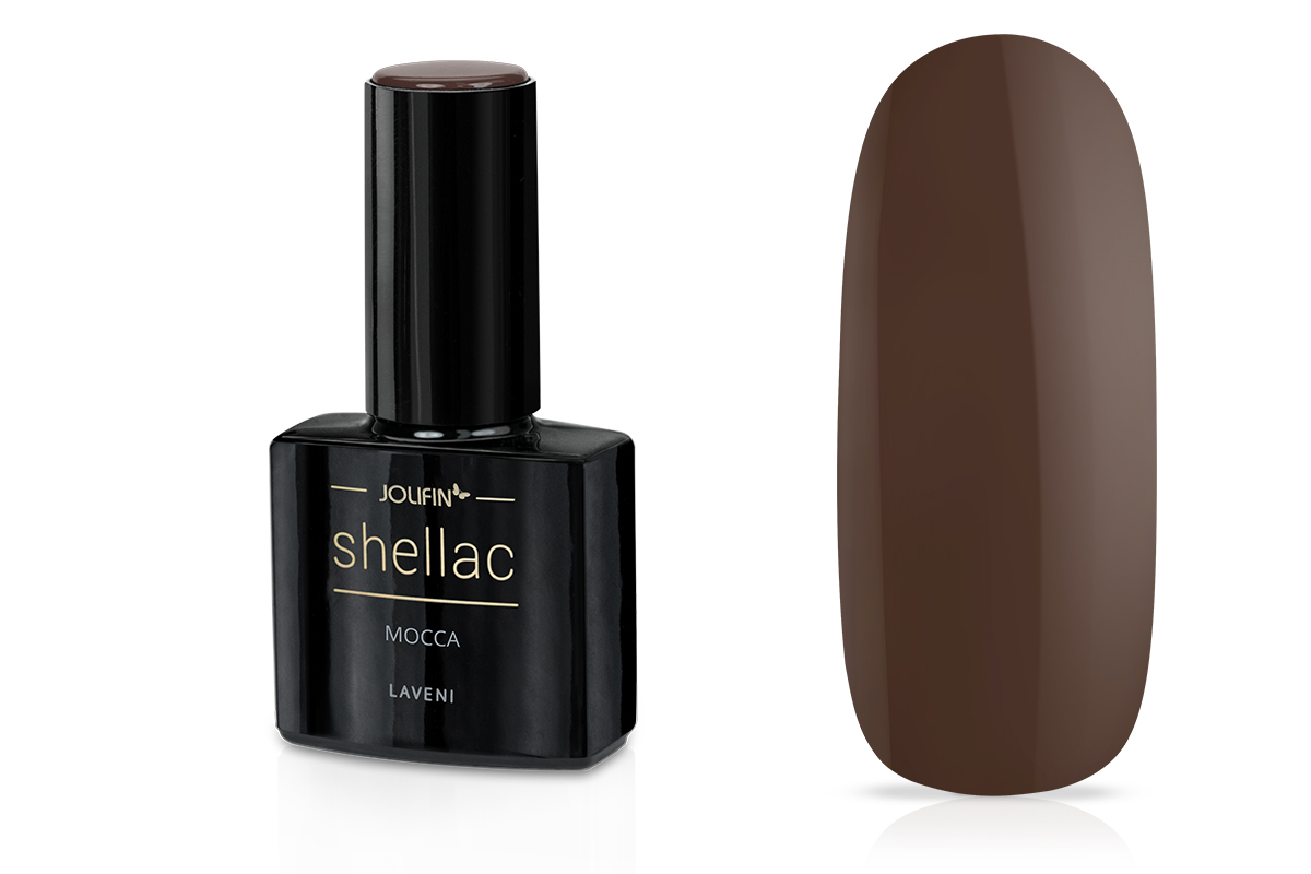 Jolifin LAVENI Shellac - mocca 12ml