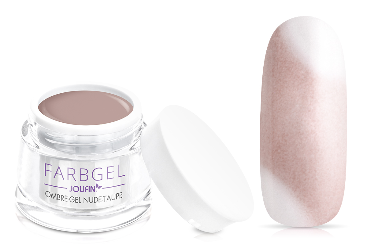 Jolifin Ombre-Gel nude-taupe 5ml