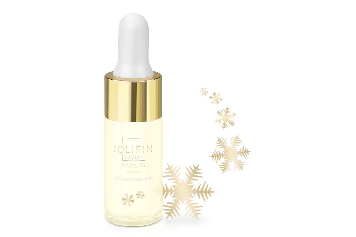Jolifin LAVENI Nagelöl - Weihnachtszauber 10ml