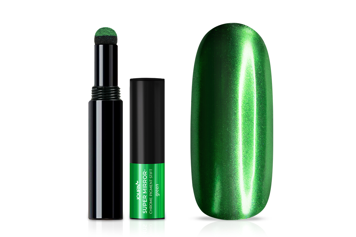 Jolifin Super Mirror-Chrome Pigment Stift - green