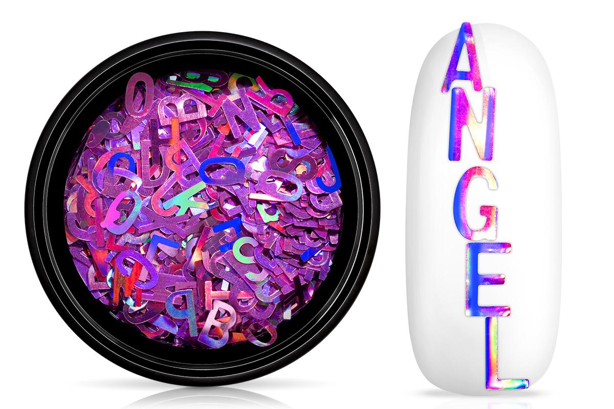 Jolifin Einleger - Buchstaben violet Hologramm