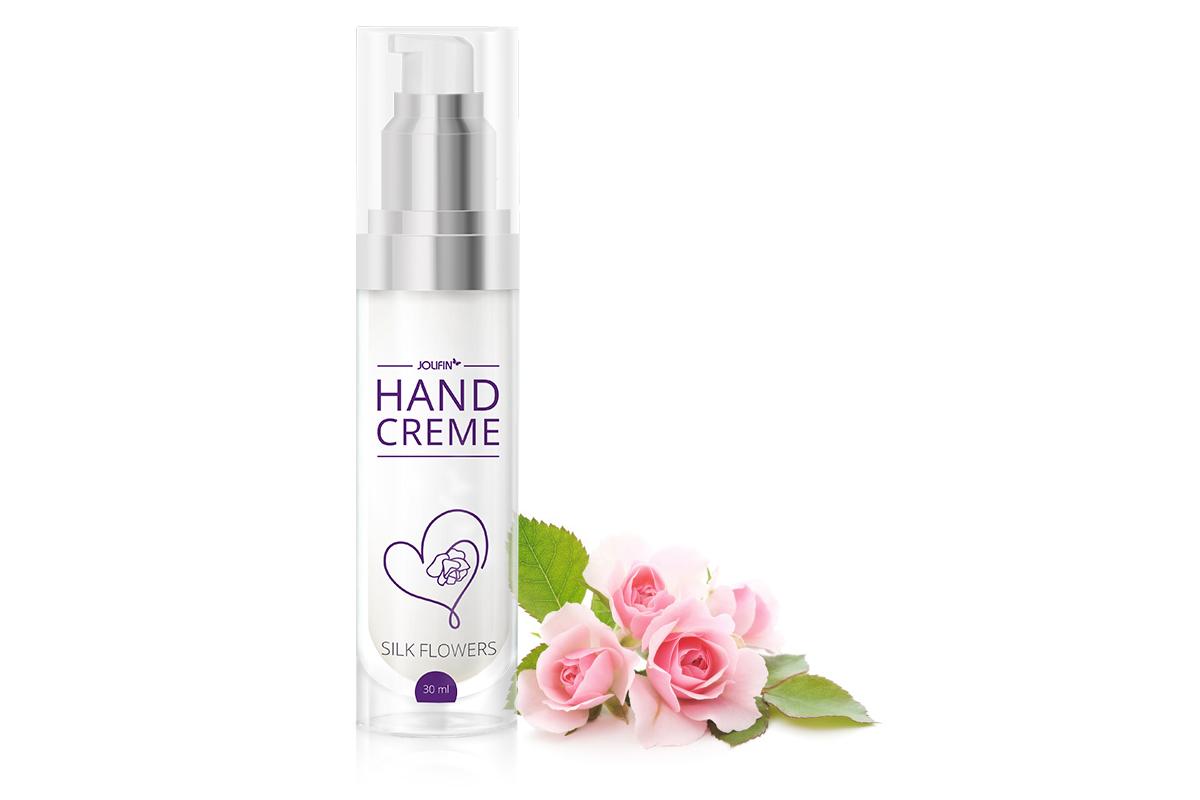 Jolifin Handcreme - silk flowers 30ml
