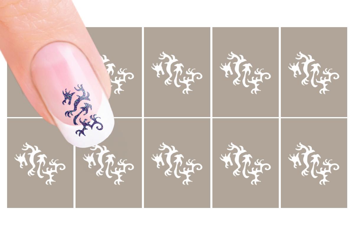 Nail-Art Schablone Nr.43 Drachen