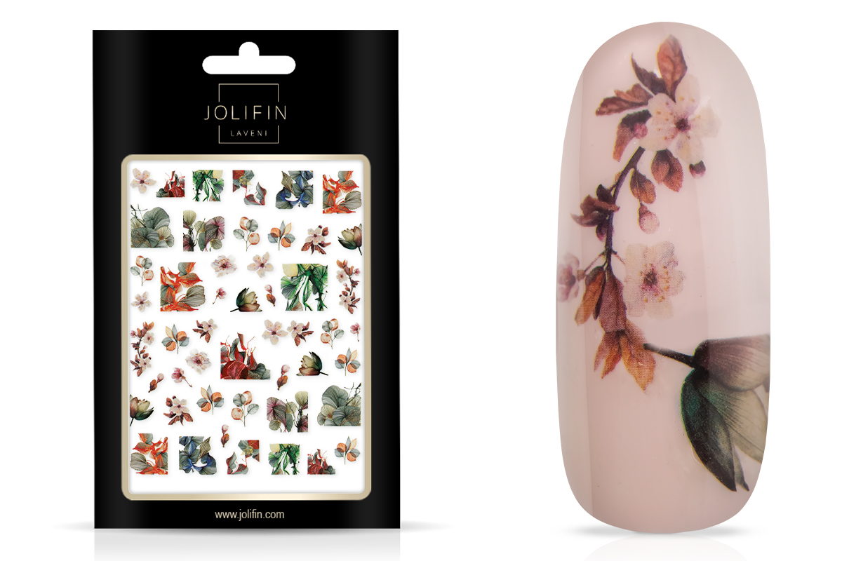 Jolifin LAVENI XL Sticker - Flowers Nr. 6