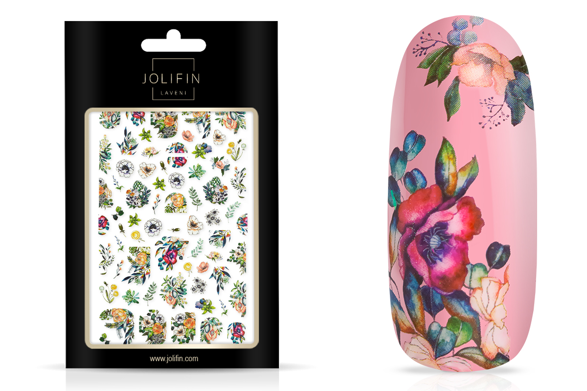 Jolifin LAVENI XL Sticker - Flowers Nr. 7