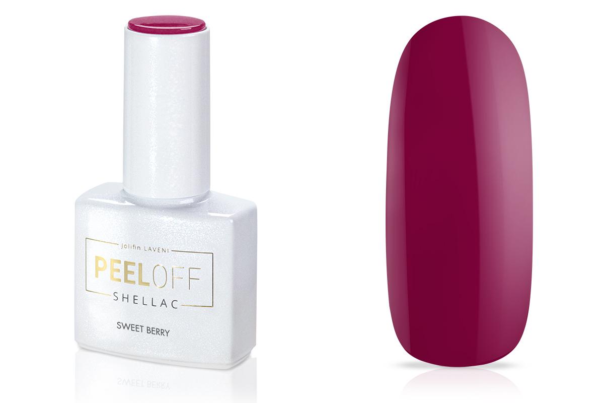 Jolifin LAVENI Shellac PeelOff - sweet berry 12ml